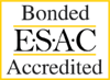 ESAC-Bonded Accredited logo