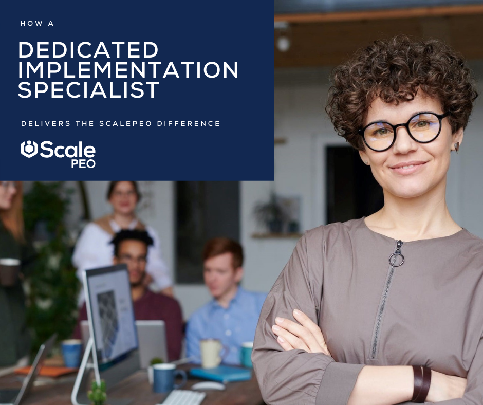 What is a PEO - dedicated implementation specialist