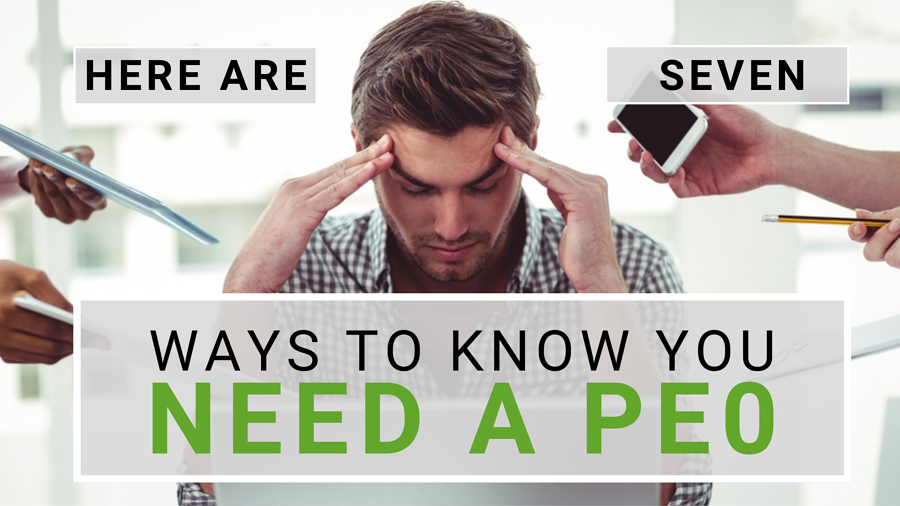 what is a peo - signs you need a PEO