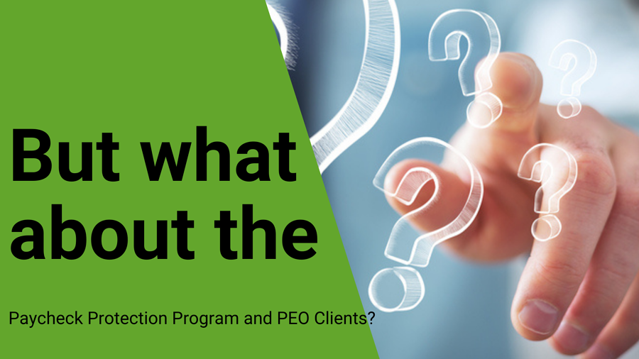 what is a peo - paycheck protection program