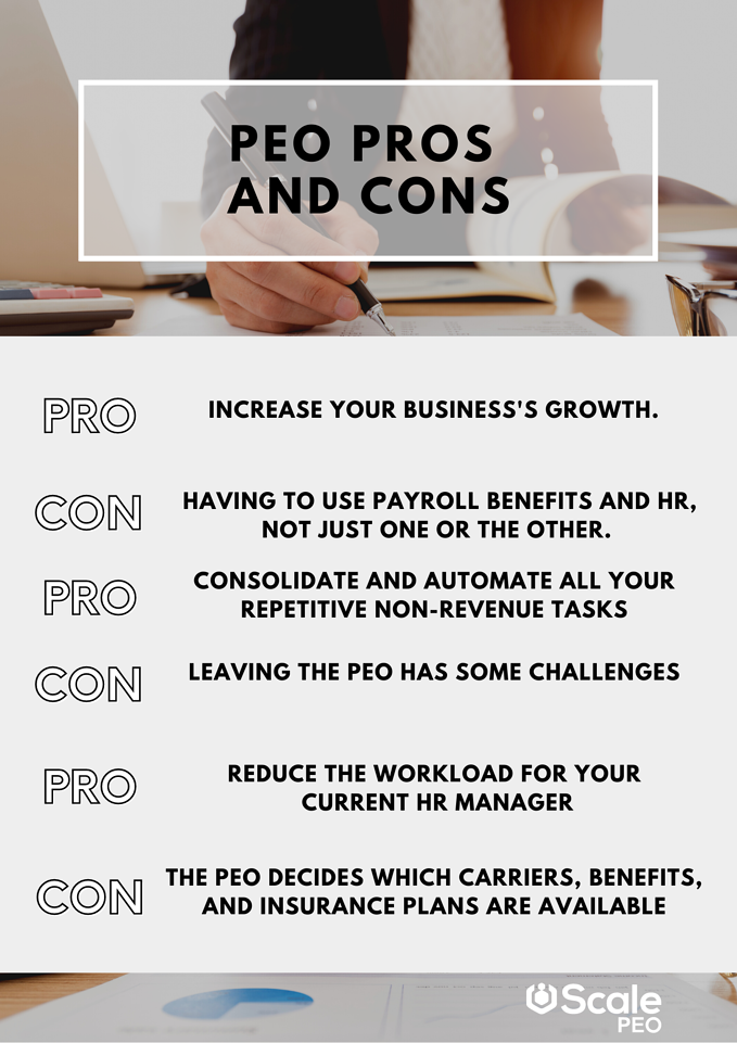 pros and cons infographic