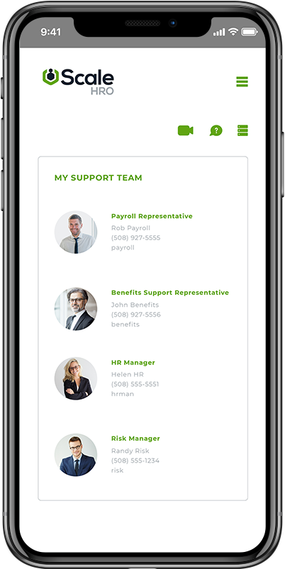 scalehro peo payroll mobile