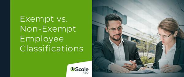 Cover Image (Exempt vs. Non-Exempt Employee Classifications - Landscape)
