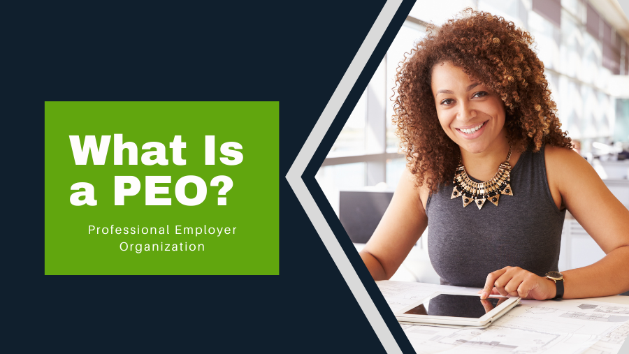 what is a peo - smiling business woman